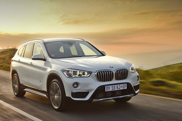 BMW X1 Switzerland April 2016
