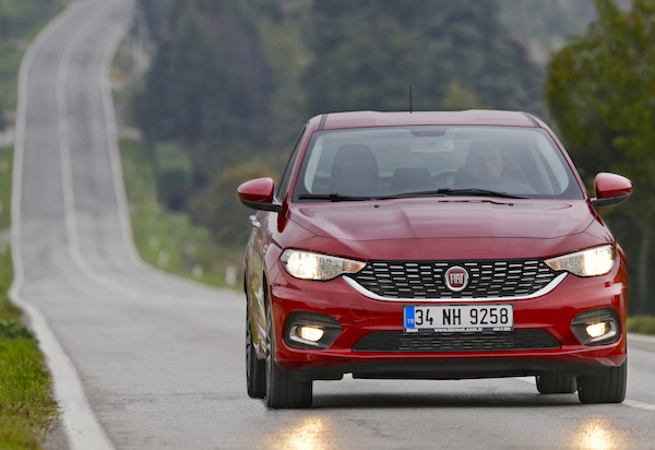 Fiat Tipo Italy April 2016