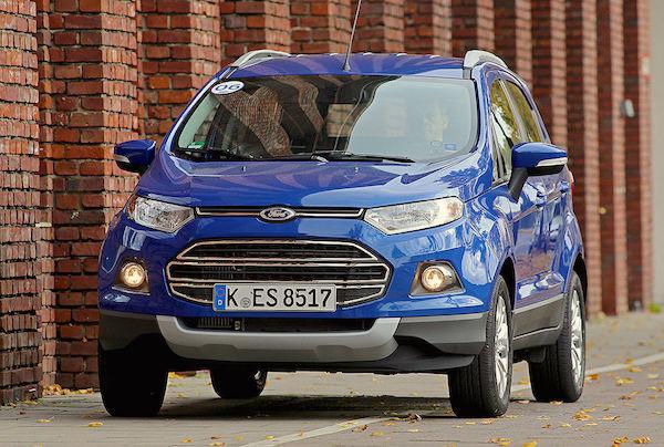 Ford Ecosport Italy June 2016. Picture courtesy autobild.de