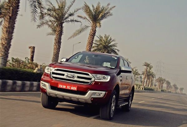 Ford Endeavour India April 2016. Picture courtesy motortrend.in