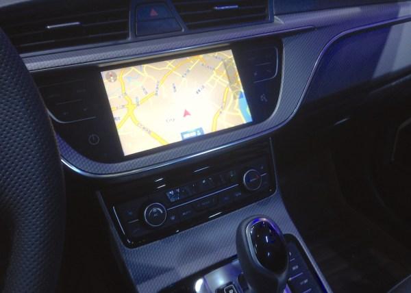Geely GS interior 2