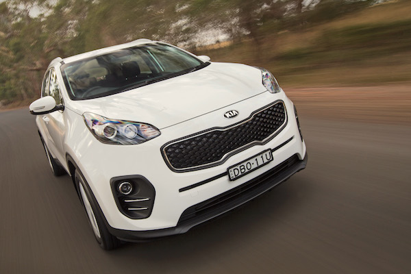 Kia Sportage New Zealand April 2016