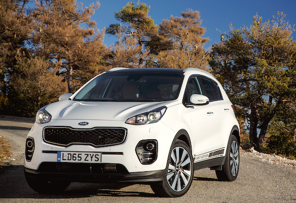 Kia Sportage UK April 2016