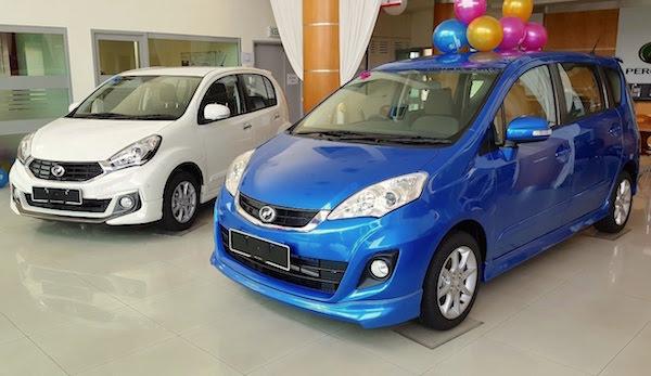 Perodua Alza Malaysia March 2016