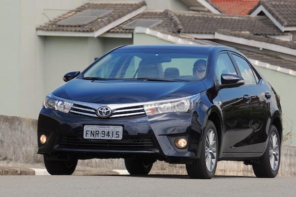 Toyota Corolla Brazil April 2016. Picture courtesy uol.com.br
