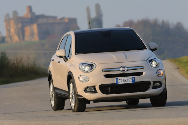 Fiat 500X Europe May 2016