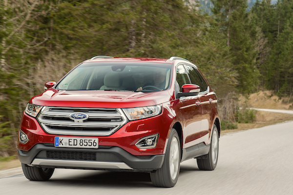 Ford Edge Germany May 2016