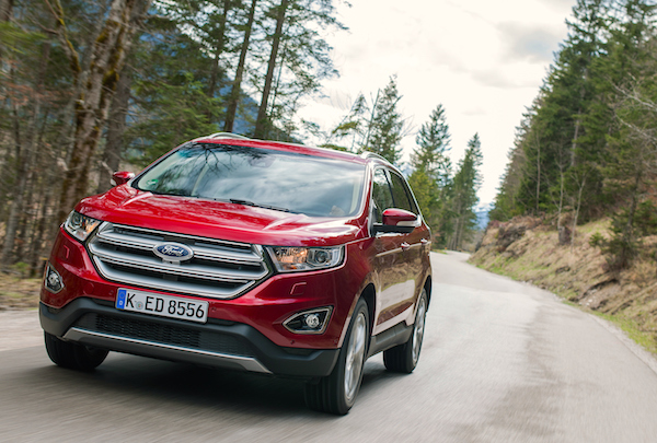 Ford Edge Spain May 2016