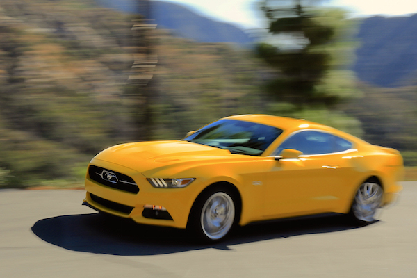Ford Mustang New Zealand May 2016