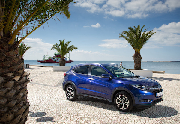 Honda HR-V Cyprus May 2016