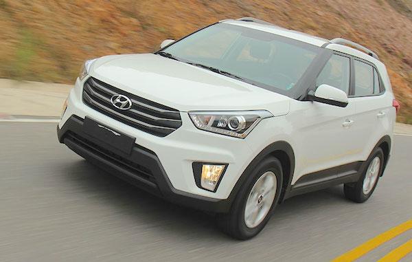 Hyundai Creta Chile May 2016. Picture courtesy carsmagazine.com.ar