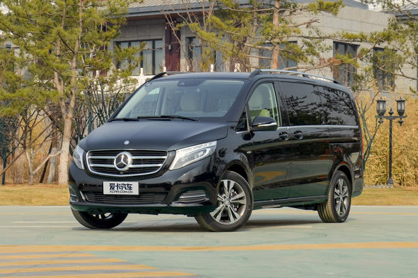 Mercedes V Class China May 2016. Picture courtesy xcar.com.cn