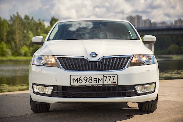 Skoda Rapid Russia May 2016. Picture courtesy arenda-car.ru