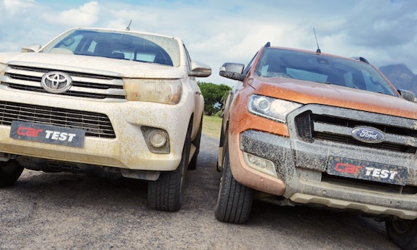 Toyota Hilux Ford Ranger Australia 2016. Picture courtesy carmag.co.za