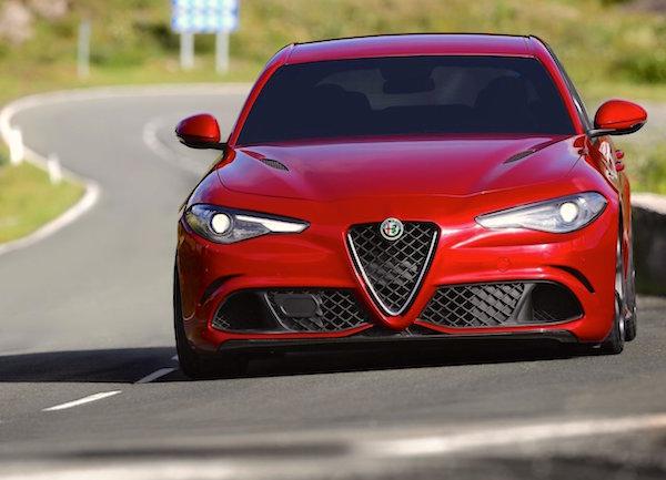 Alfa Romeo Giulia Italy June 2016
