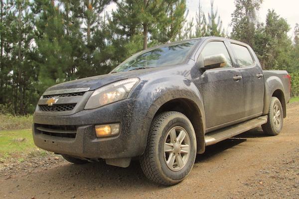 Chevrolet D-Max Ecuador 2015. Picture courtesy rutamotor.com