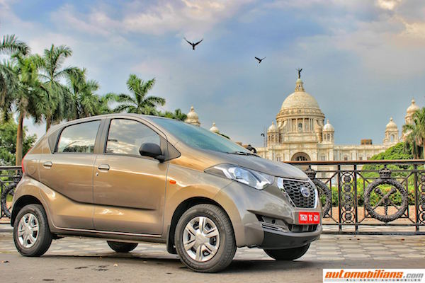 Dastun RediGO India June 2016. Picture courtesy automobilians.com