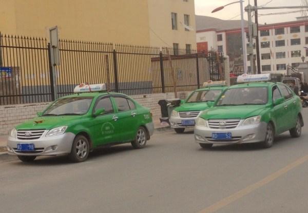 FAW Xiali N5 Taxi Tongren China 2016