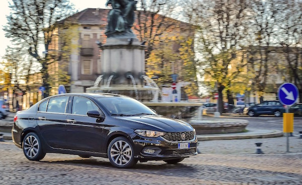 Fiat Tipo Italy June 2016. Picture courtesy quattroruote.it