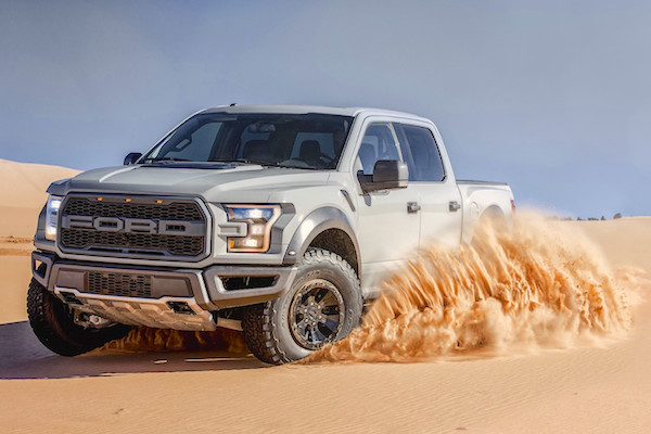 Ford F-150 Raptor USA June 2016