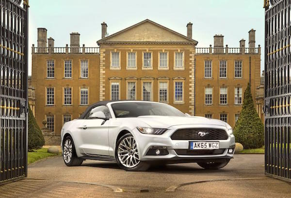 Ford Mustang UK June 2016. Picture courtesy autocar.co.uk