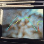 Haval H8 Reverse camera mud
