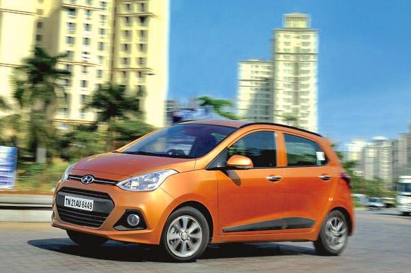 Hyundai Grand i10 India June 2016. Picture courtesy autocarindia.com