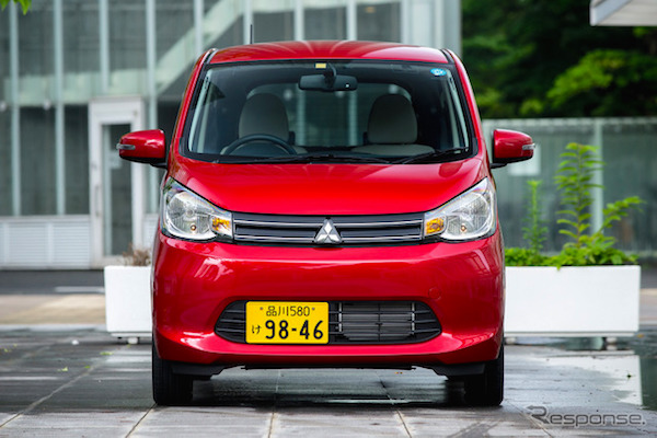 Mitsubishi eK Japan June 2016. Picture courtesy response.jp