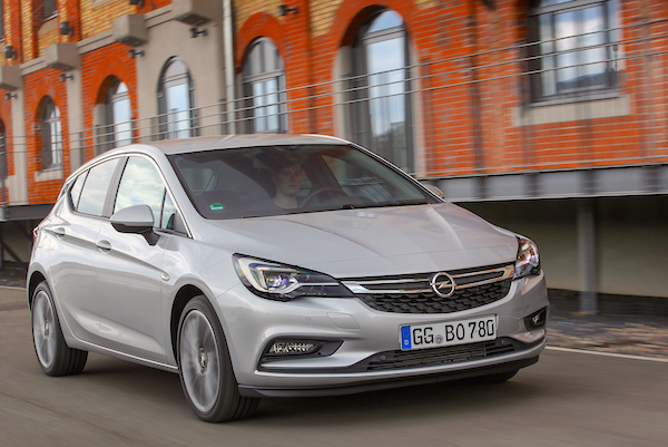 Opel Astra Turkey July 2016