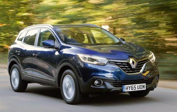 Renault Kadjar Ireland July 2016. Picture autocar.co.uk