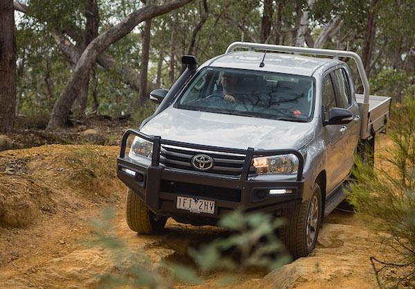 Toyota Hilux Australia 2016. Picture courtesy of caradvice.com.au