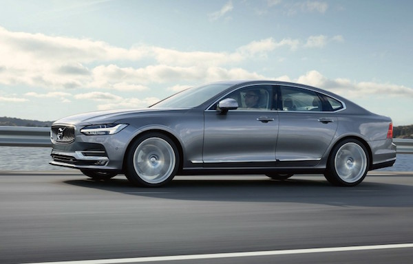 Volvo S90 USA June 2016