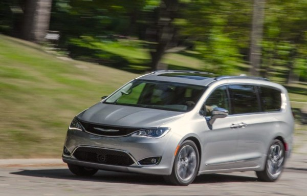Chrysler Pacifica USA July 2016. Picture courtesy caranddriver.com