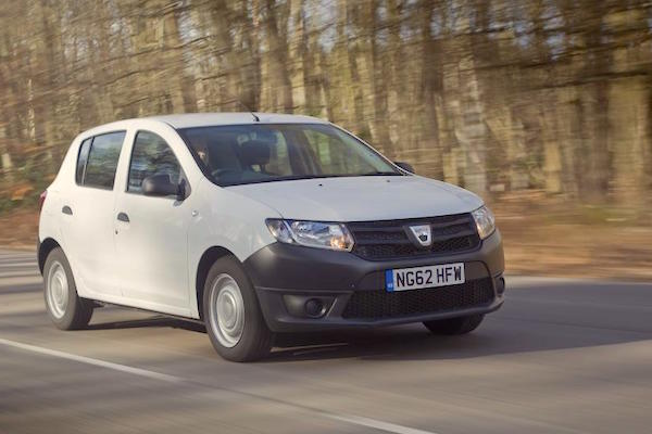 Dacia Sandero Switzerland July 2016. Picture courtesy Autocar.co.uk