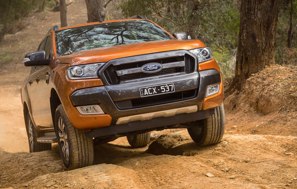 Ford Ranger New Zealand July 2016. Picture courtesy caradvice.com.au