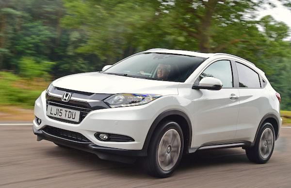 Honda HR-V Cyprus October 2016. Picture courtesy autoexpress.co.uk