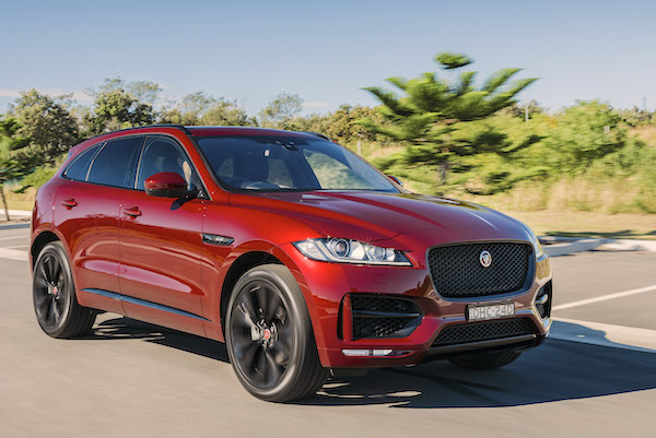 Jaguar F-Pace Australia July 2016. Picture courtesy caradvice.com.au