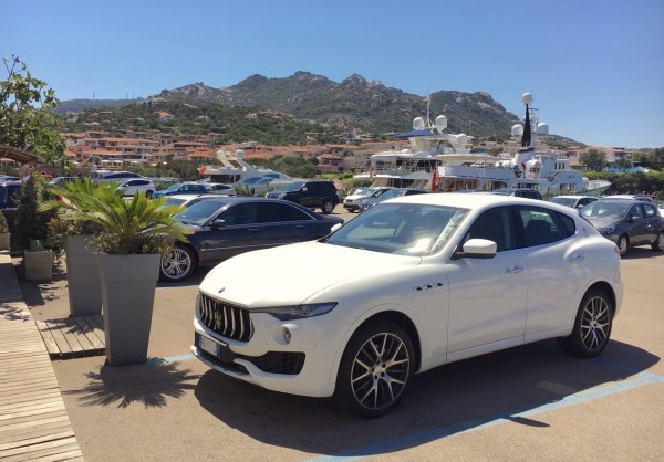 Maserati Levante Porto Cervo Sardinia