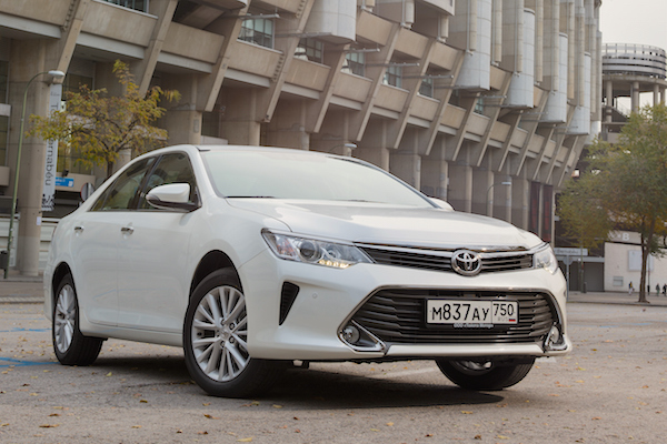 Toyota Camry Kazakhstan July 2016