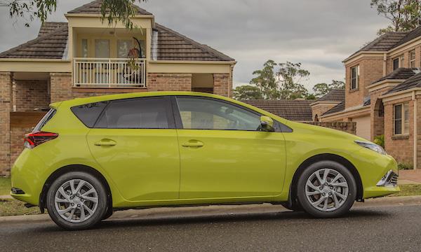 Toyota Corolla Australia July 2016. Picture courtesy caradvice.com.au