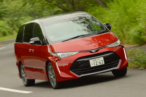 Toyota Estima Japan July 2016. Picture courtesy autoc-one.jp