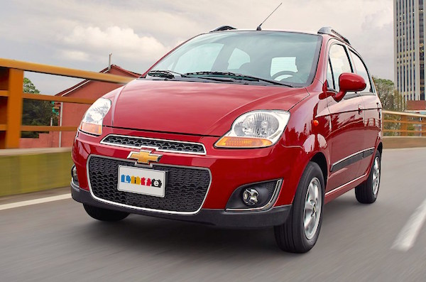 Chevrolet Spark Life Colombia August 2016