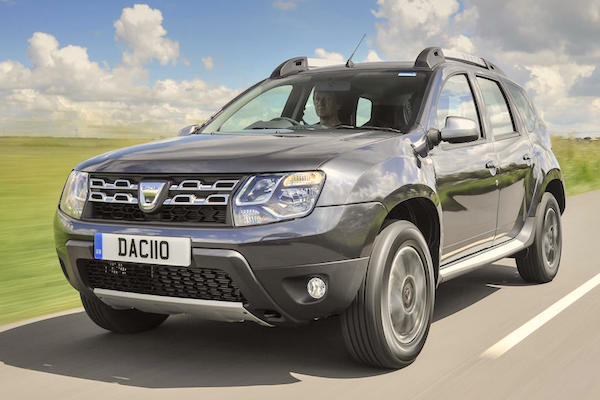 Dacia Duster Slovenia September 2016. Picture courtesy autocar.co.uk