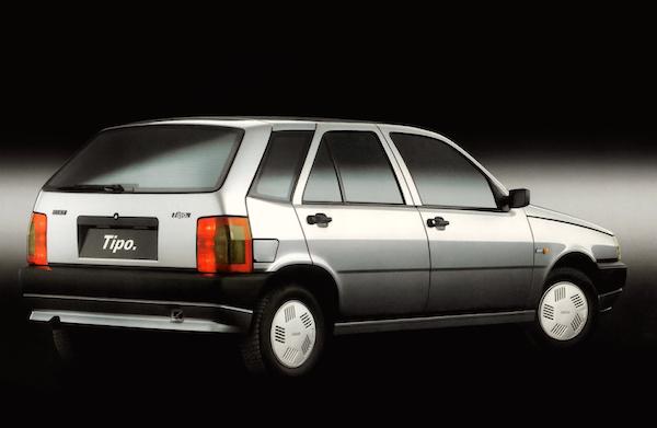 Fiat Tipo Italy 1988 back