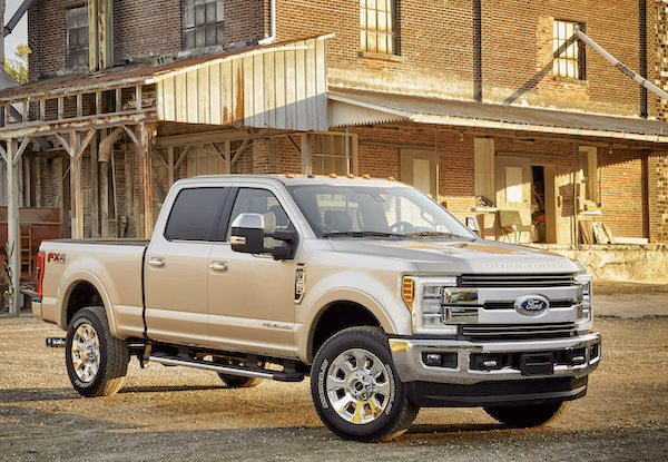 Ford F-350 Super Duty Canada 2016