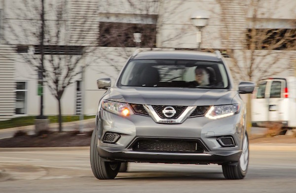 Nissan Rogue USA August 2016. Picture courtesy caranddriver.com