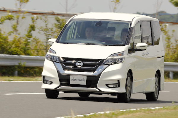 Nissan Serena Japan August 2016. Picture courtesy autoc-one.jp