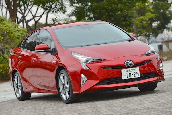 Toyota Prius Japan 2016. Picture courtesy autoc-one.jp