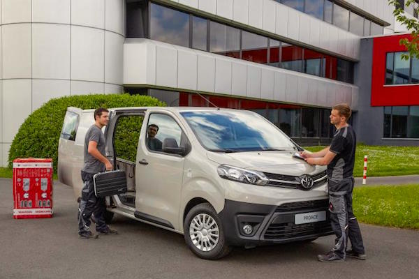 Toyota Proace Germany August 2016. Picture courtesy welt.de