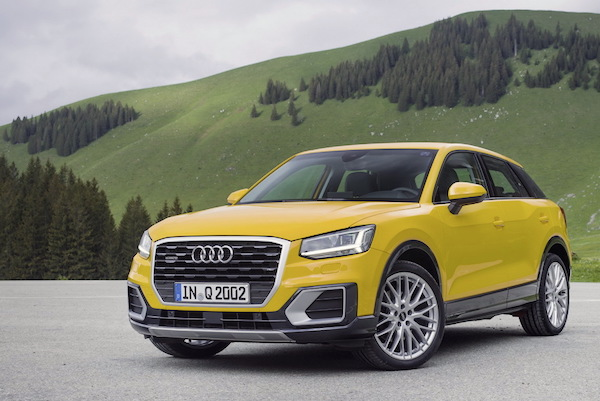 Audi Q2 Germany October 2016. Picture courtesy largus,fr